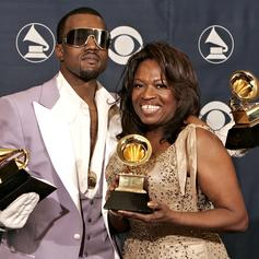 """Kanye West Shares New Song, """"Donda,"""" In Honor Of His Late Mother"""