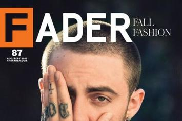 Mac Miller Covers The Fader