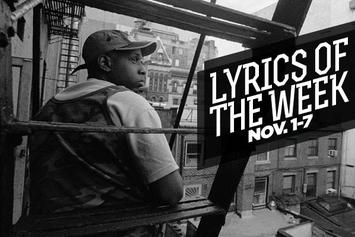 Lyrics Of The Week: November 1-7