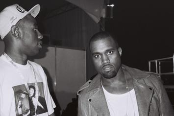 """Kanye West & Tyler, The Creator Perform """"Late"""" @ Odd Future Carnival"""