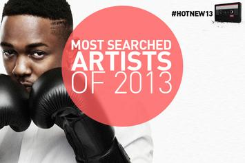 Most Searched Artists On HNHH Of 2013