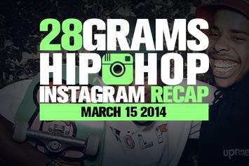 28 Grams: Hip-Hop Instagram Recap (March 15)
