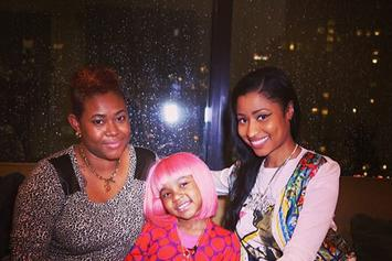 Nicki Minaj Grants Wish For 5-Year Old Cancer Patient