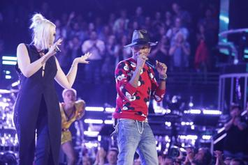 """Pharrell Performs """"Come Get It Bae"""" On The Voice"""