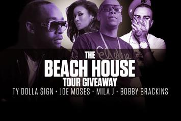"Ticket Giveaway: See Joe Moses & Ty Dolla $ign On ""The Beach House"" Tour"