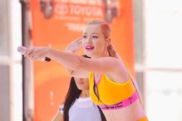 "Iggy Azalea Performs ""Fancy' On The Today Show"