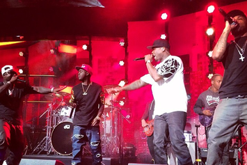 """G-Unit Perform """"Watch Me"""" On Chelsea Lately Finale"""