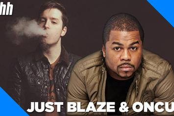 """OnCue & Just Blaze Talk Working Relationship & """"Angry Young Man"""""""