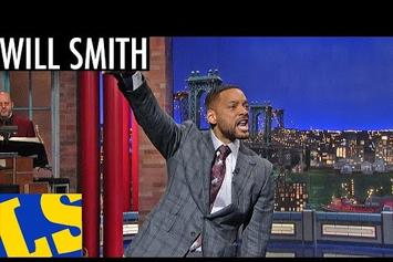 """Will Smith Performs """"Getting Jiggy Wit It"""" On David Letterman"""