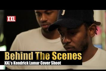 BTS Of Kendrick Lamar's Cover Shoot With XXL