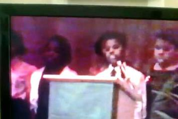12-Year-Old Kanye West Recites A Poem About Martin Luther King Jr.