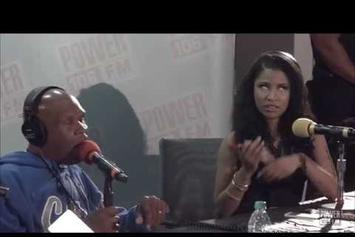 Nicki Minaj Talks Working With Meek Mill & Dating Rumors On Power 106