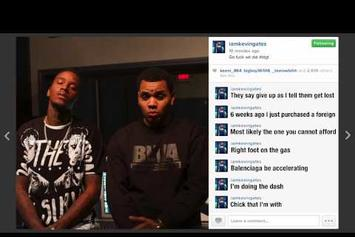 """Kevin Gates Feat. August Alsina """"I Don't Get Tired"""" (Lyric Video)"""