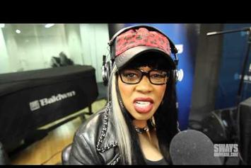 "Remy Ma Performs ""Go In Go Off"" & ""Dying to Be Me"" On Sway In The Morning"