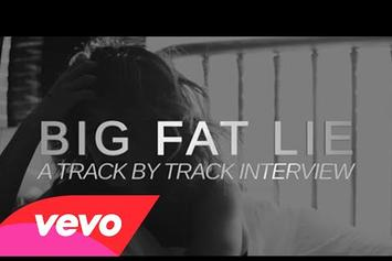 "Nicole Scherzinger ""Big Fat Lie (A Track by Track Interview)"" Video"