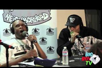 Chris Brown Freestyles With Big Boy