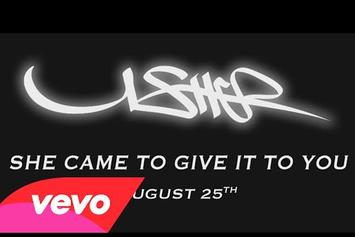 "Usher Feat. Nicki Minaj ""She Came To Give It To You"" Video (Teaser)"