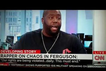 Killer Mike Interviewed On CNN About Ferguson