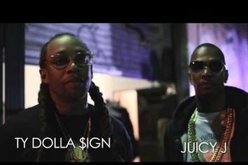 "BTS Of Ty Dolla $ign ""Ratchet In My Benz"" Feat. Juicy J"