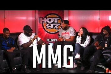 "Rick Ross Feat. Meek Mill, Stalley, Rockie Fresh, Omarion & DJ Scream ""Hot 97 AM Show Interview"" Video"