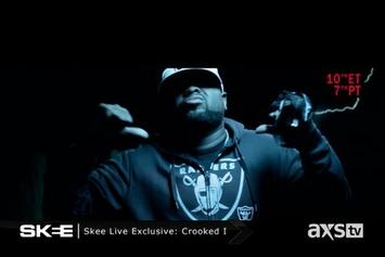"Crooked I ""Skee Live Freestyle"" Video"