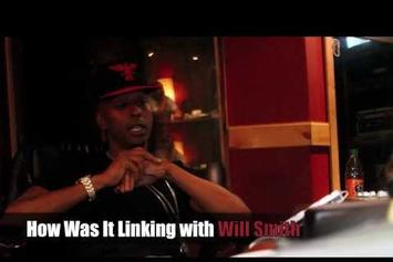 "Gillie Da Kid ""Discusses Studio Session w/ Will Smith & Name Change to Gill Smith"" Video"