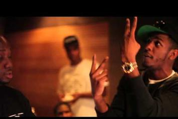 "K Smith Feat. King Los ""Perform ""I Get What I Want"" in the Studio "" Video"