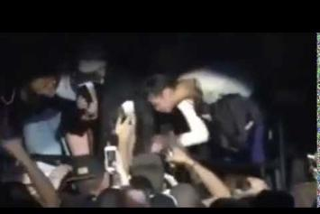 "ASAP Rocky ""Slaps Female Fan At Sydney, Australia Show"" Video"