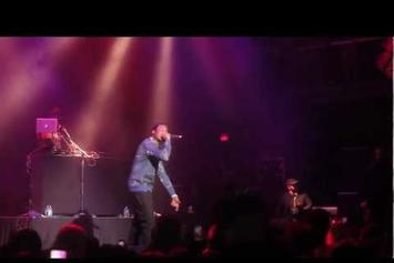 "Meek Mill ""Started From The Bottom (Live)"" Video"