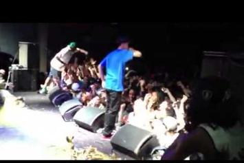 "Earl Sweatshirt Feat. Tyler, The Creator ""Whoa (Live In Brooklyn)"" Video"