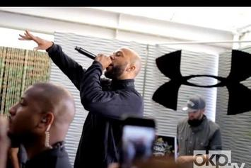 """Common """"Freestyles Over """"Clique"""""""" Video"""