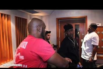 "Mystikal ""In The Studio With Birdman & Mack Maine"" Video"