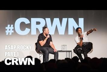 ASAP Rocky's CRWN Interview (Pt. 1)