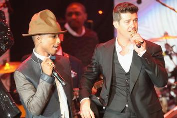 """Pharrell & Robin Thicke Are Trying To Take """"Blurred Lines"""" Back To Court"""