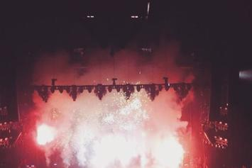 Drake Performs New Freestyle At Palace Of Auburn Hills In Detroit