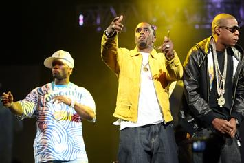50 Cent & Diddy's Effen Vs. Ciroc Battle Continues On Instagram
