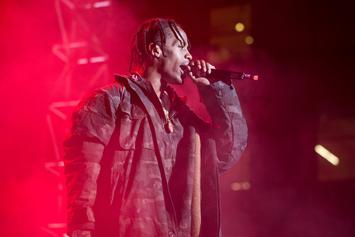 """The Travi$ Scott Action Figure From The """"Rodeo"""" Cover Is For Sale"""