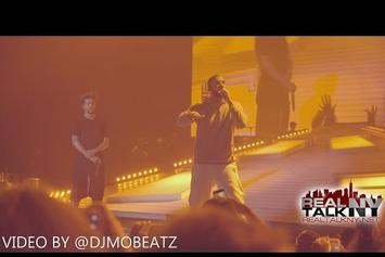 Drake Performs New Verse At J. Cole's Homecoming Show
