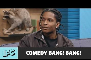 "A$AP Rocky Pokes Fun At Grammys On ""Comedy Bang! Bang!"""