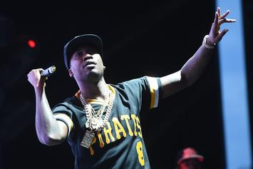 Meek Mill Goes Off On Fan For Holding Up Drake Sign During His Show