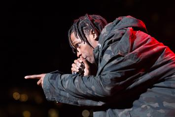 Travis Scott Puts Fan-Shoving Security Guard In His Place
