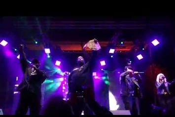 "Run The Jewels, Big Boi & Phantogram Perform ""Born To Shine"" In San Fransisco"