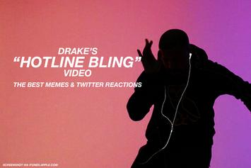 "Drake's ""Hotline Bling"" Video: The Best Memes & Twitter Reactions"