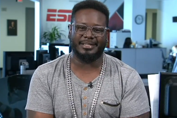 "T-Pain Talks Meeting Michael Jackson On ESPN's ""Highly Questionable"""