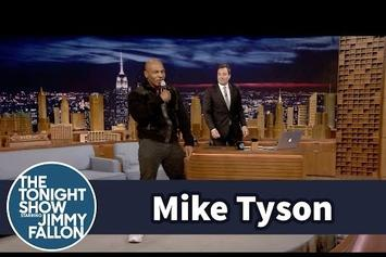 "Mike Tyson Sings Drake's ""Hotline Bling"" On Jimmy Fallon"