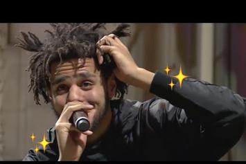 Watch The Full J. Cole #MLKNow Interview, Including Marriage Reveal