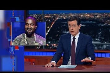 Stephen Colbert Pokes Fun At Kanye West's Donda Chart