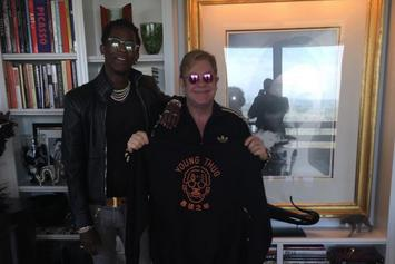 Young Thug & Elton John Meet Up In Atlanta