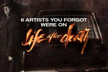 "6 Artists You Forgot Were on ""Life After Death"""