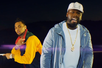 "50 Cent Feat. Chris Brown ""I'm The Man (Remix)"" Video"
